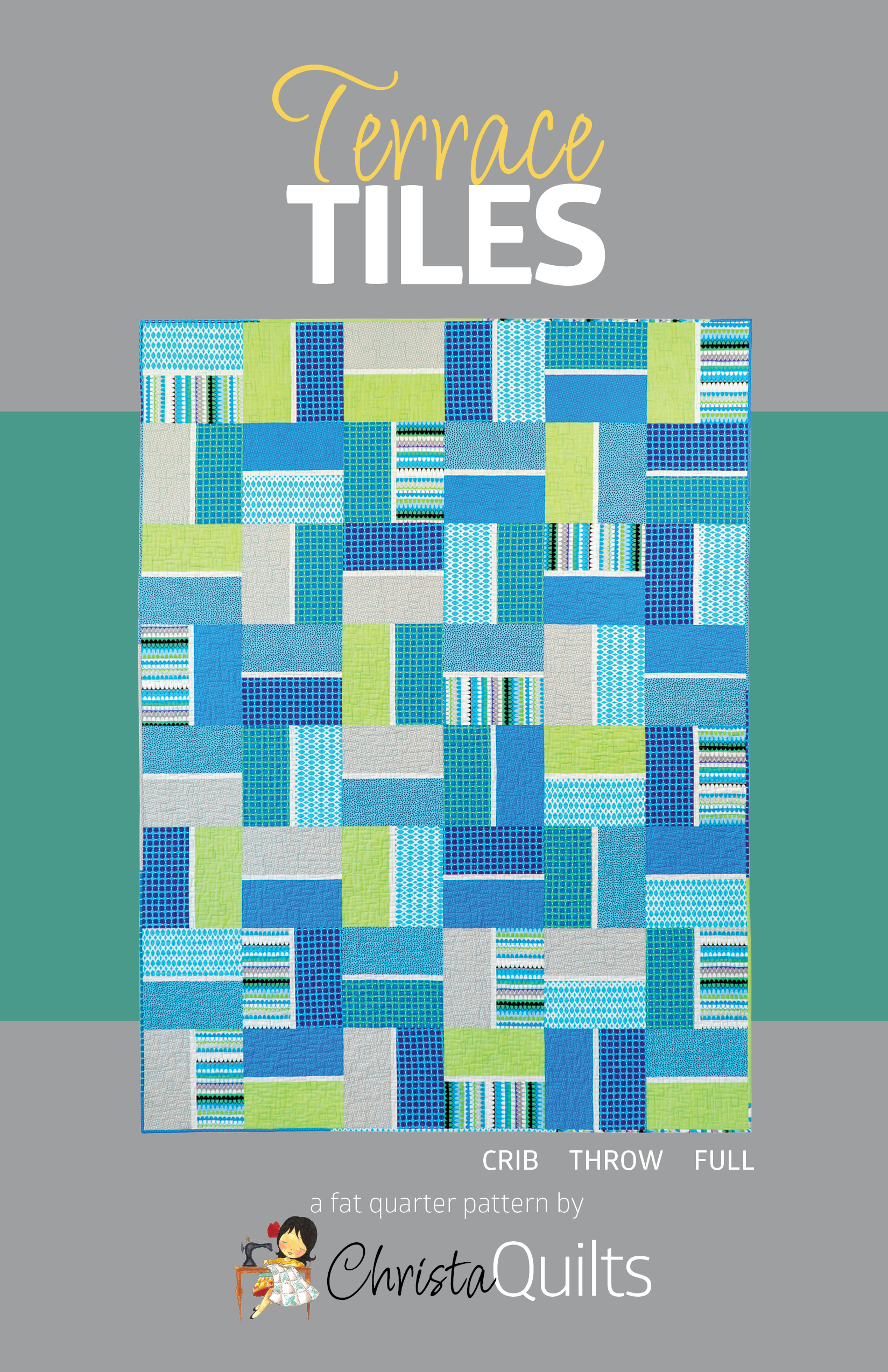 Terrace Tiles pattern front cover
