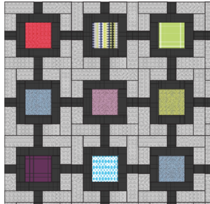 block layout