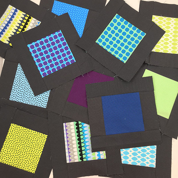 Blockchain quilt blocks