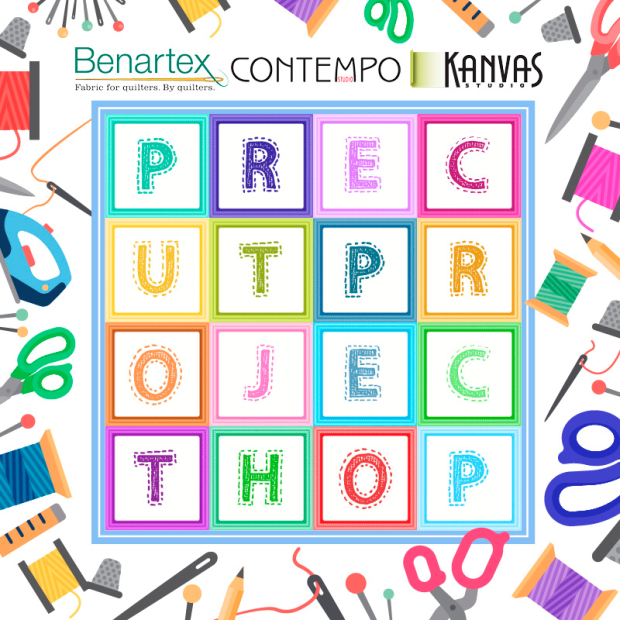 Benartex Precut Project Hop