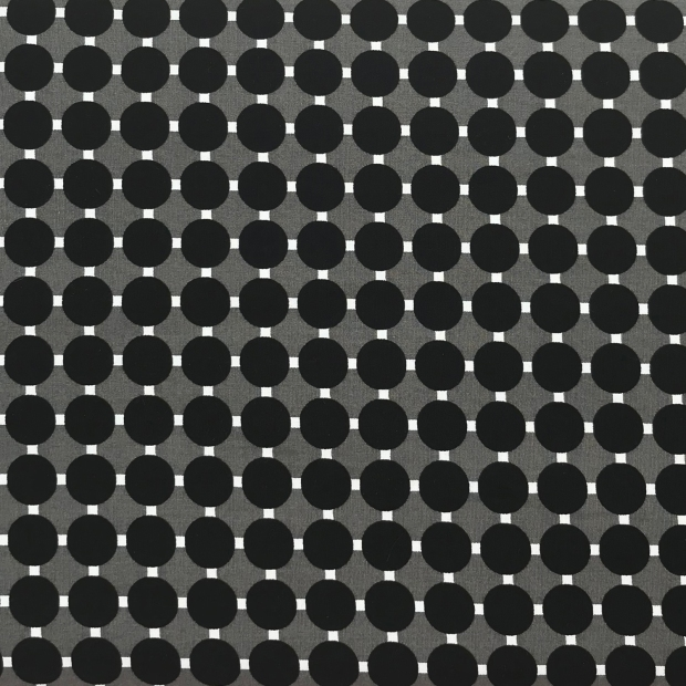 Gridwork Work Circle Grid Black