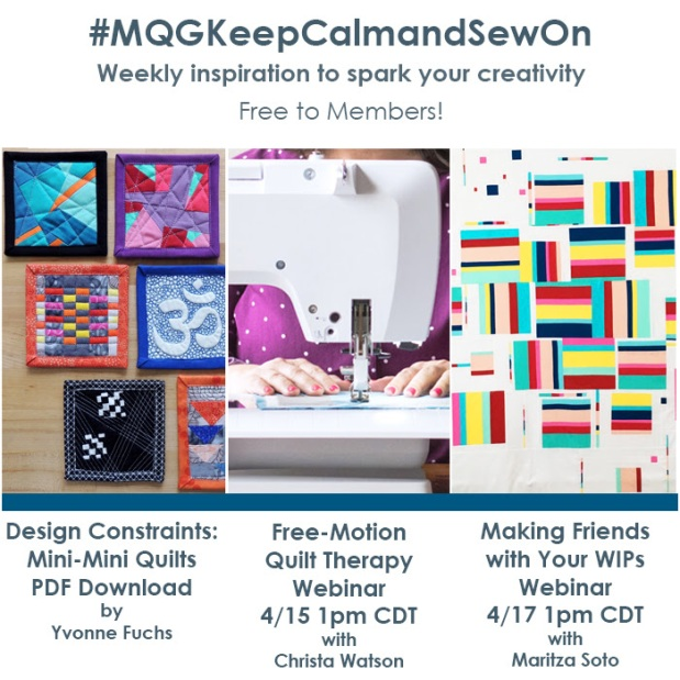 MQG Keep Calm and Sew On