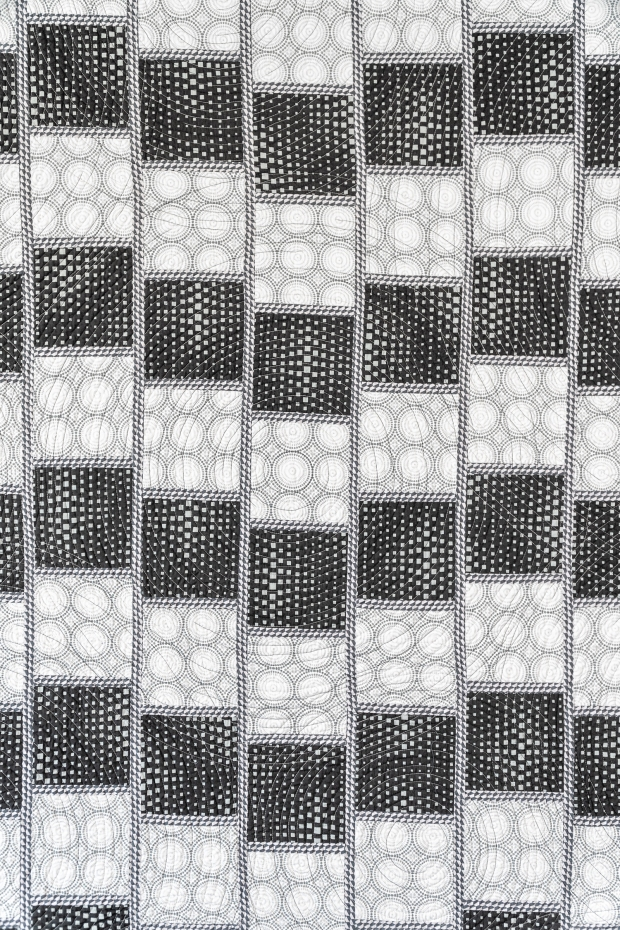 Optical Illusion Quilt from Good Vibes Fabric