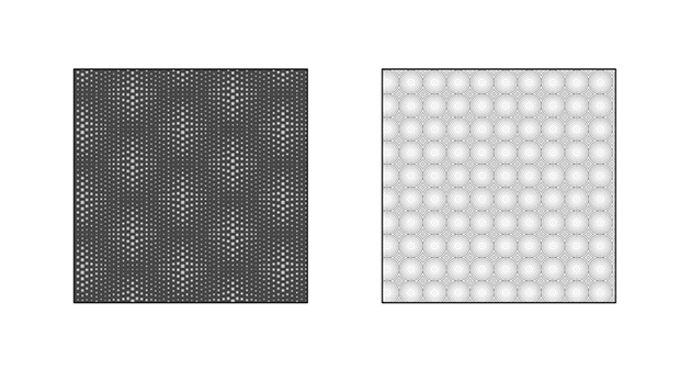 Optical Illusion Squares