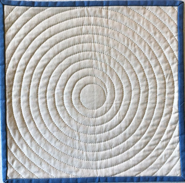 Machine Quilting Continuous Spirals