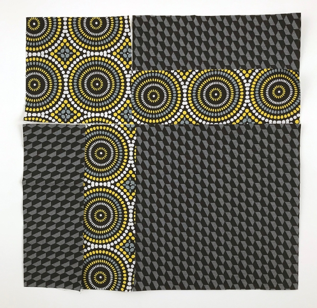 Bling block same fabric