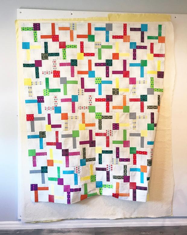Bling quilt in progress