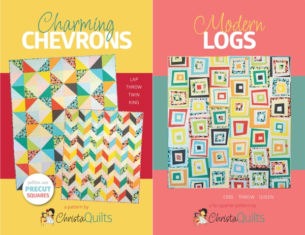 Charming Chevrons Modern Logs by Christa Watson