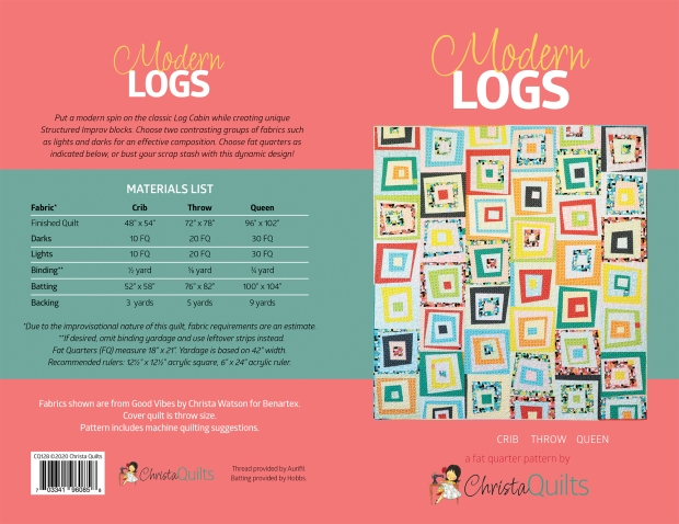 Modern Logs cover spread
