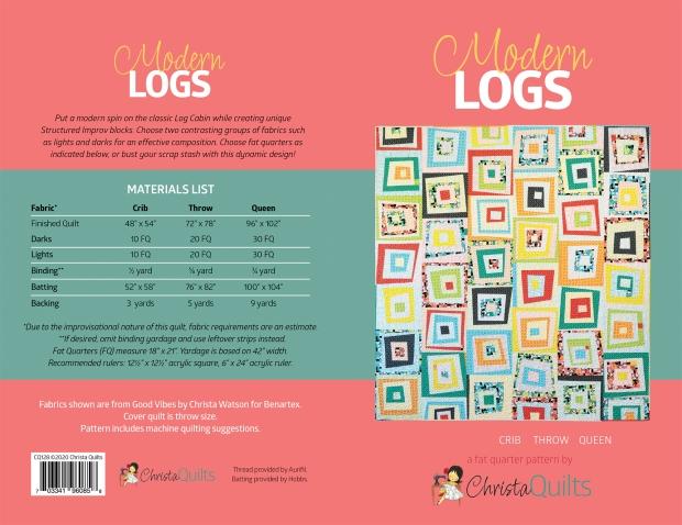Modern Logs cover spread
