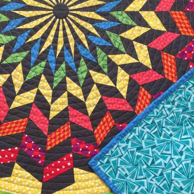 Hypnotica Quilt by Nancy Messuri