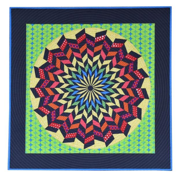 Hypnotica Quilt by Nancy Messuri