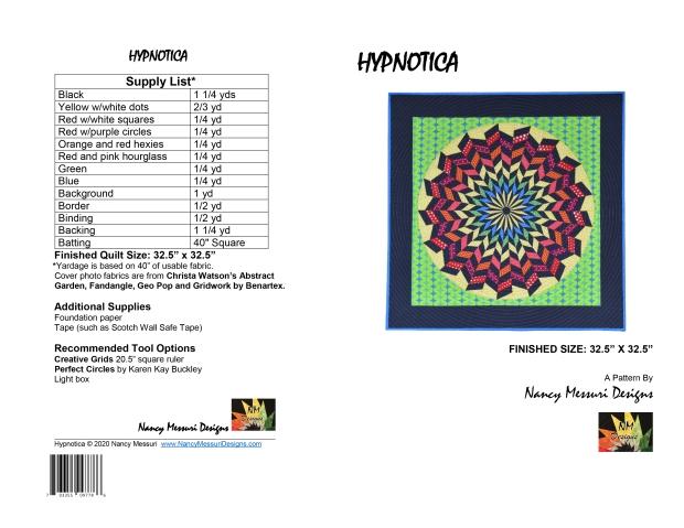 Hypnotica Quilt pattern