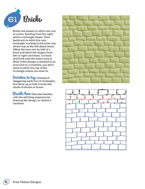 99 Machine Quilting Designs by Christa Watson