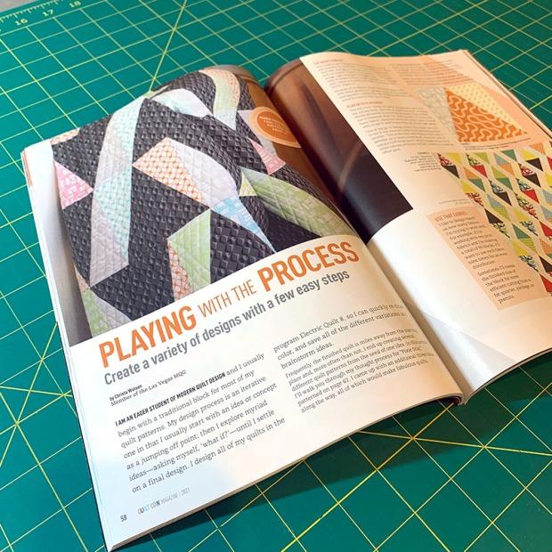 Pixie Stix QuiltCon Magazine