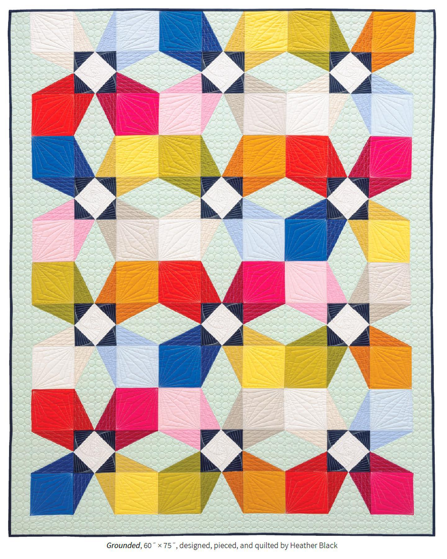 Grounded Quilt by Heather Black